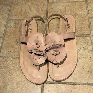 Seychelles Floral Beige Sandals *read*
